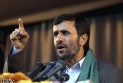 Ahmedinejad: Yüz katınız gelse bile