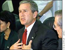 Bush'a Irak darbesi