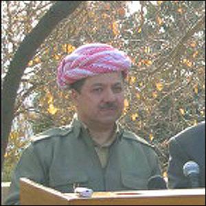 Barzani Suudi Arabistan'da