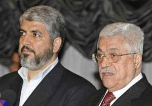 Mahmud Abbas ile Halid Meşal görüştü