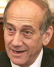 Olmert'in yaygaralarına tepki