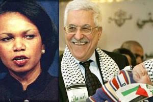 Rice ve Abbas görüşmesi