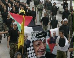 Filistin'de birlik gösterileri