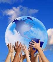 تقسيم دنيا با خدا