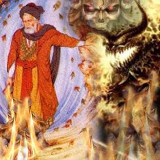 عابد وشیطان، بخش اول