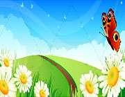 گلهای تشنه باغچه