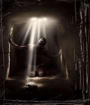 برخورد ملائک با انسان در دم مرگ