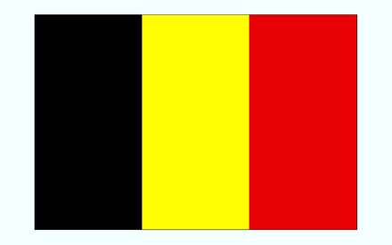 Image result for پرچم بلژیک