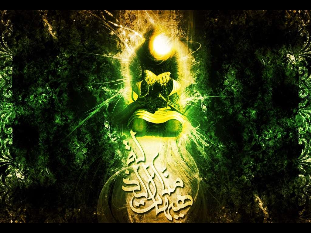 عکس تمثال حضرت عباس