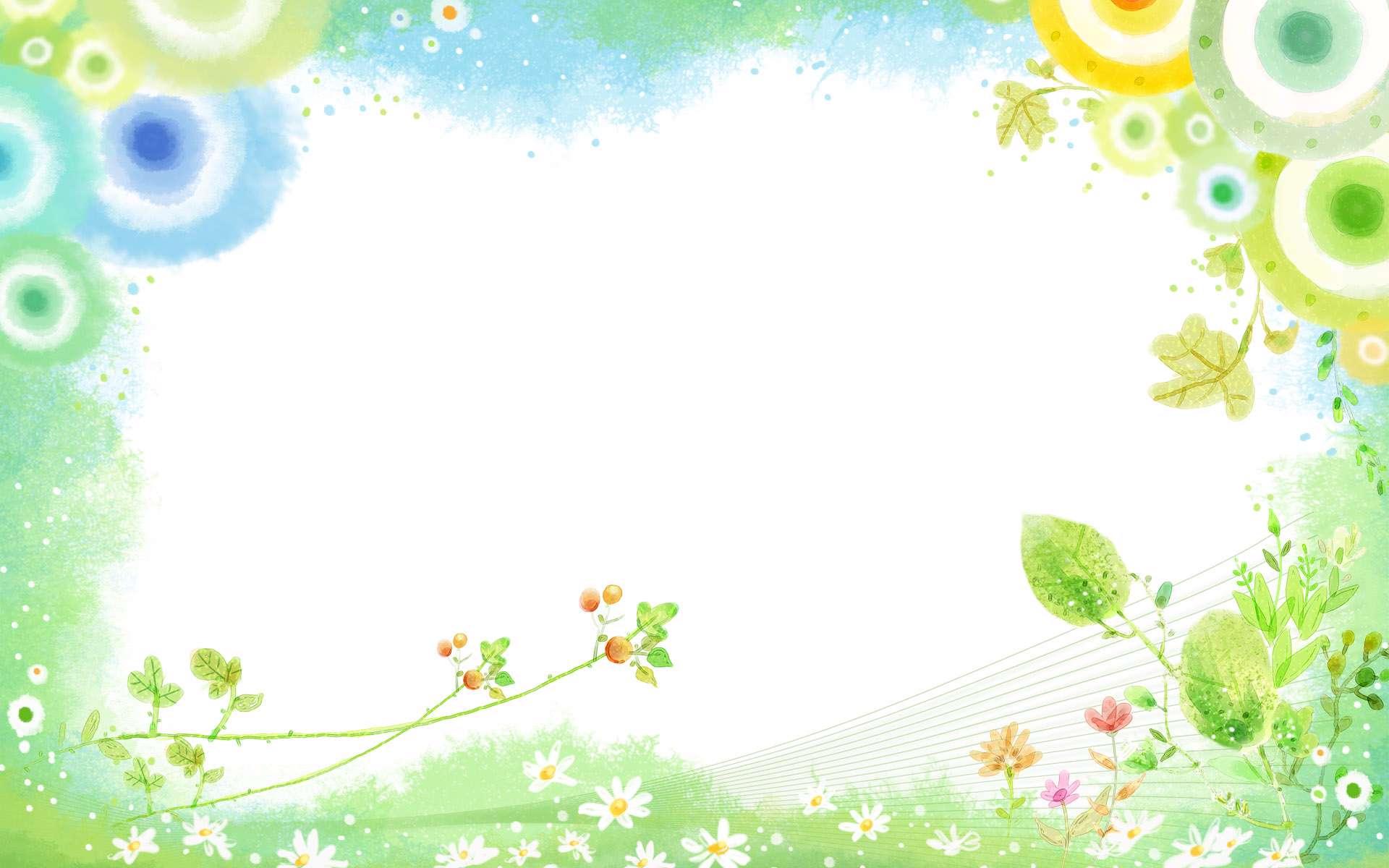 نقاشي با آبرنگ از ساختمان نقاشي ديجيتالي از برگها و گلهاي زيبا گنجینه تصاویر تبيان