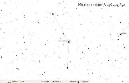 صورت فلکی میکروسکوپ