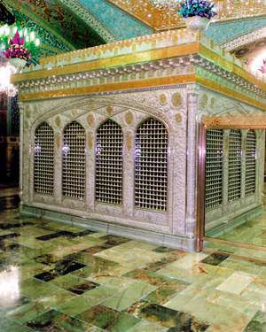 قبر امام رضا(ع)
