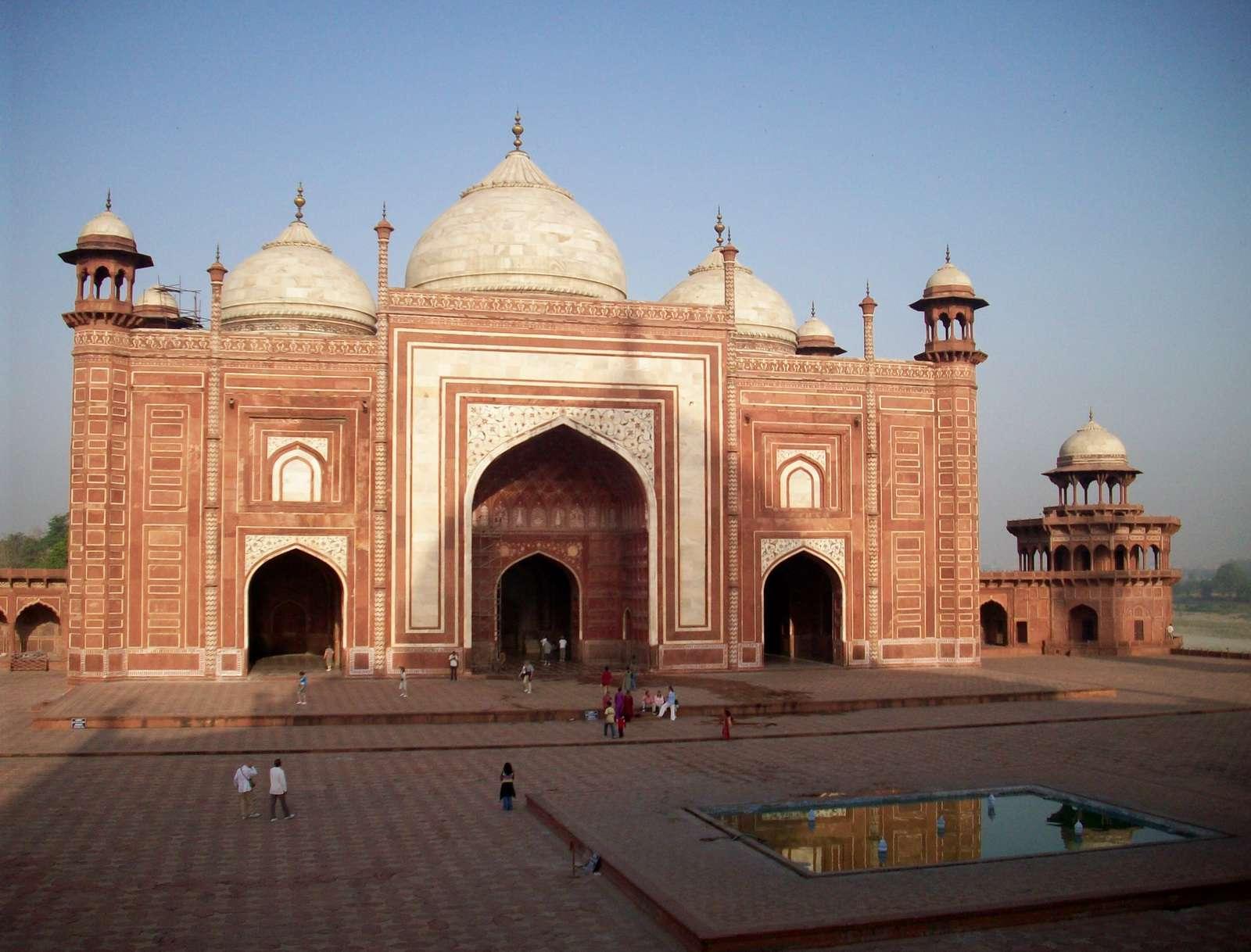 عکس مسجد تاج محل