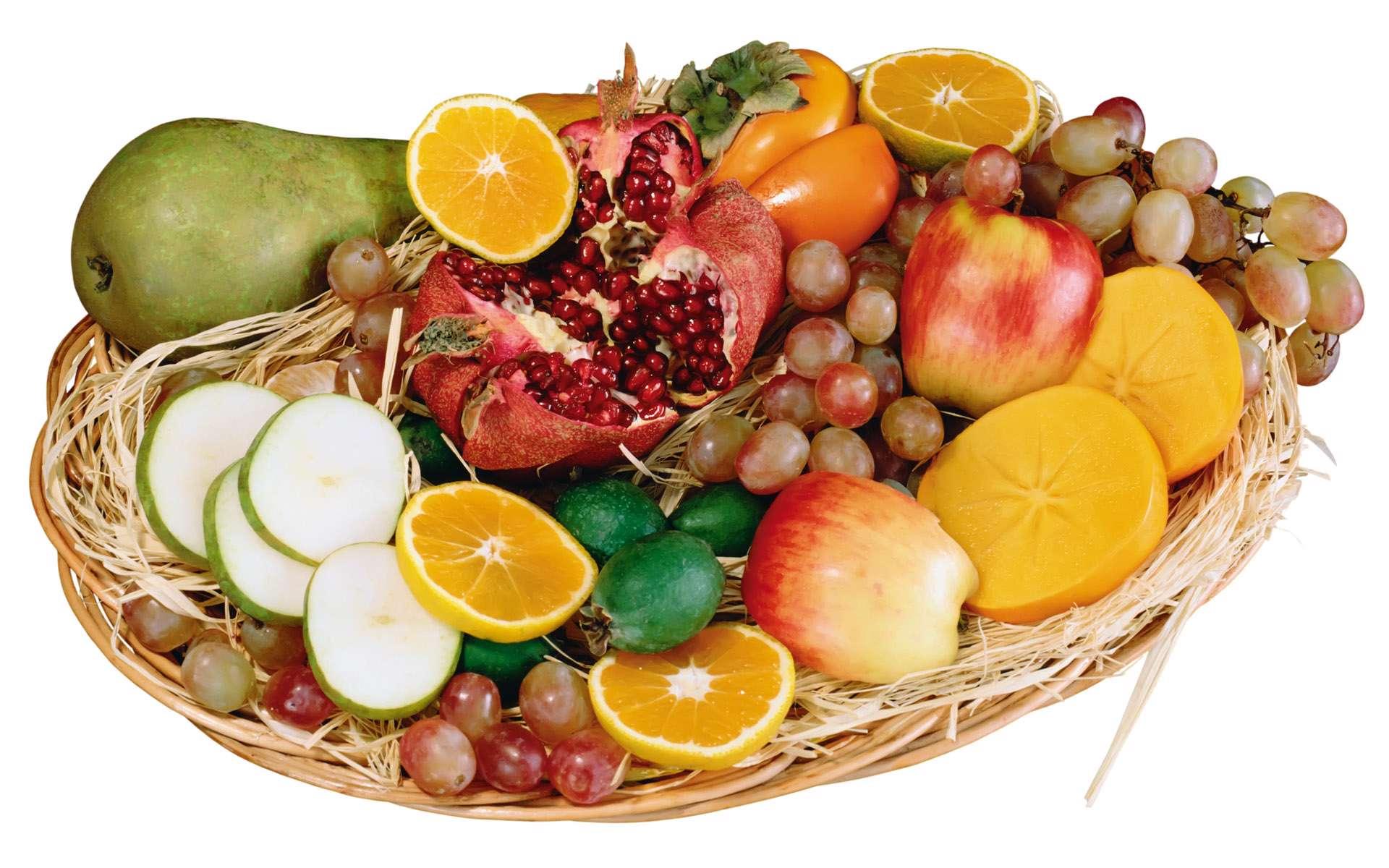 تزئین سبد میوه