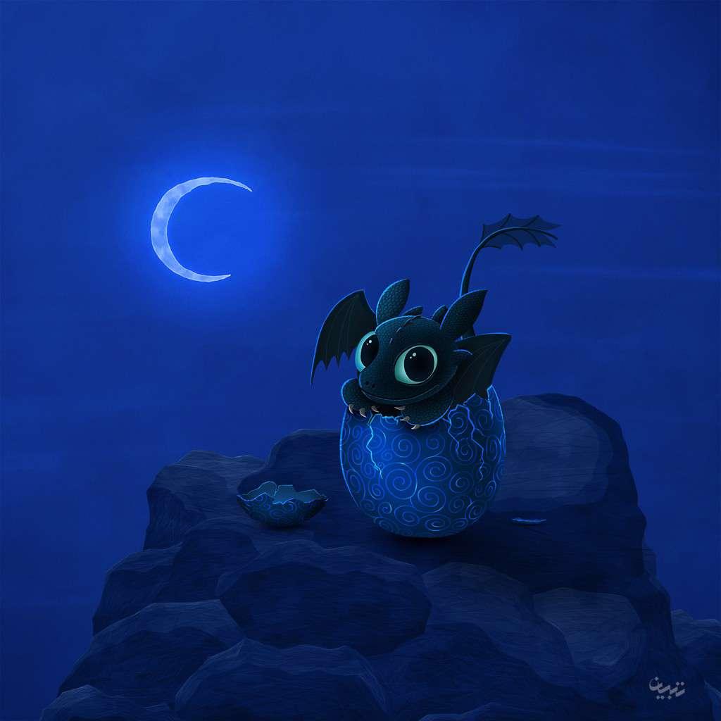 اژدها خشم شب واقعی تولد خشم شب گنجینه تصاویر تبيان