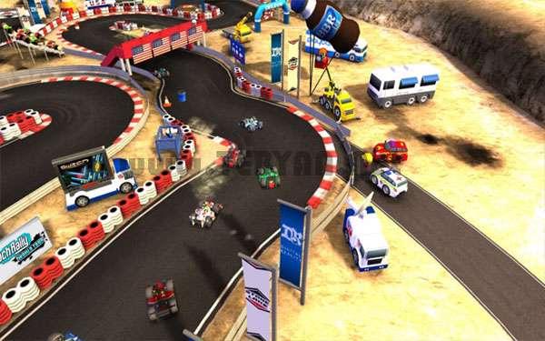 بازی مسابقه ماشین سواری، Bang Bang Racing 1.0