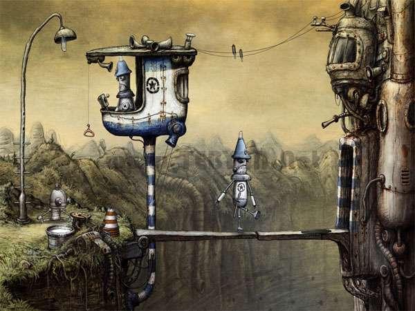 بازی زیبای عصر ماشین، Machinarium