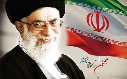 رهبر، Leader، پرچم، banner، ایران، Iran، آیت الله خامنه ای