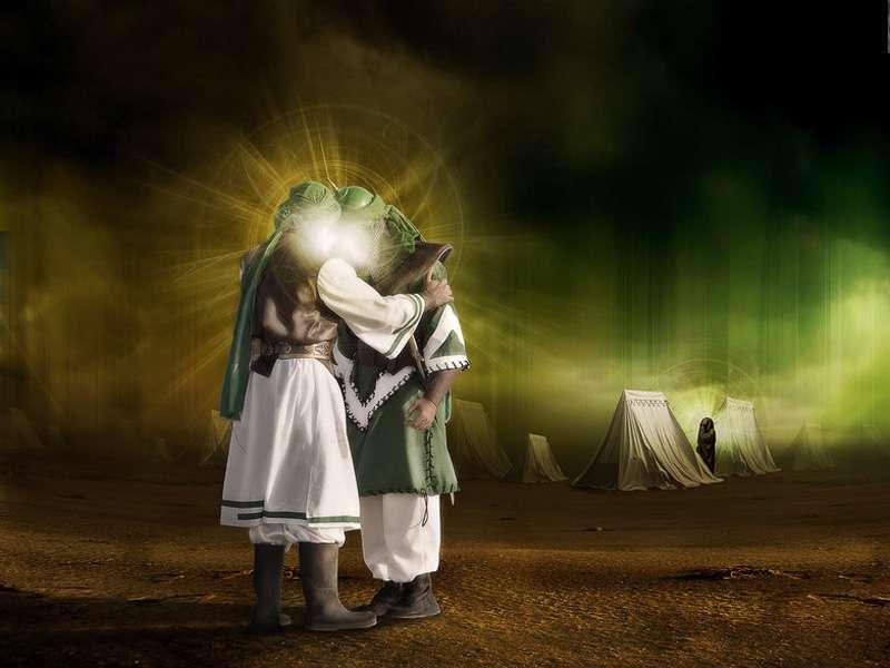 عکس سر امام حسین روی نیزه