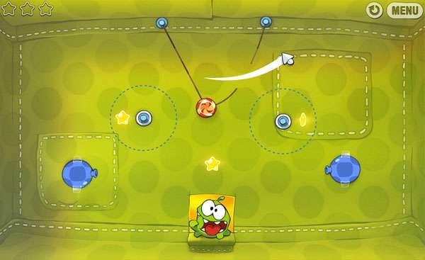 بازی مهیج و فکری طناب را ببر، Cut The Rope 1.0.0.30 For PC
