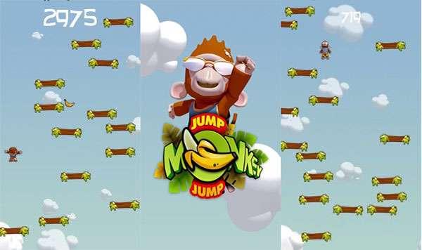 بازی زیبای پرش میمون نسخه سیمبیان3، Jump Monkey Jump v1.0.0
