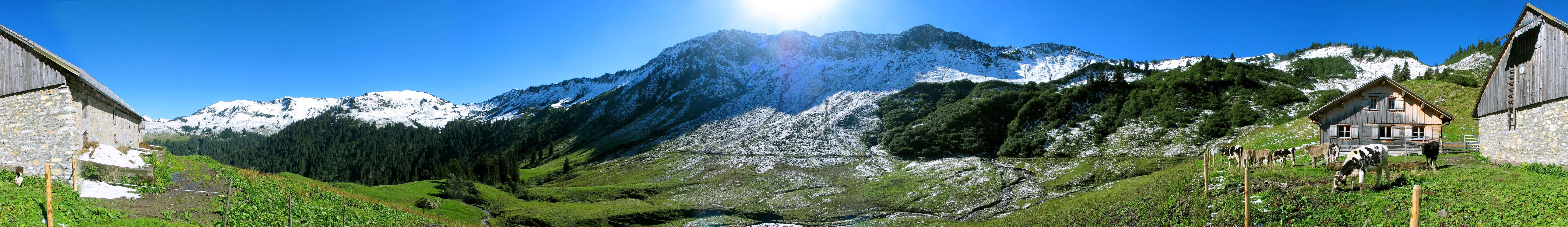 عکس+منظره+کوهستانی