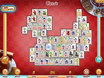 بازی سرگرم کننده و فکری Hotel Mahjong Deluxe