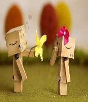 یک شاخه گل + روی خوش = انفجار محبت