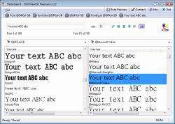نمایش و مدیریت فونت + پرتابل، FontViewOK 4.02