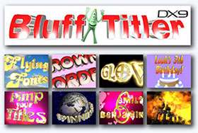 ایجاد نوشته های سه بعدی + پرتابل، BluffTitler iTV 13.1.0.1