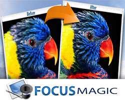افزایش قدرتمند وضوح تصاویر، Focus Magic 4.01