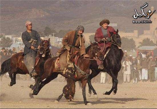 ورزش عجیب و پرطرفدار افغان ها! +عکس