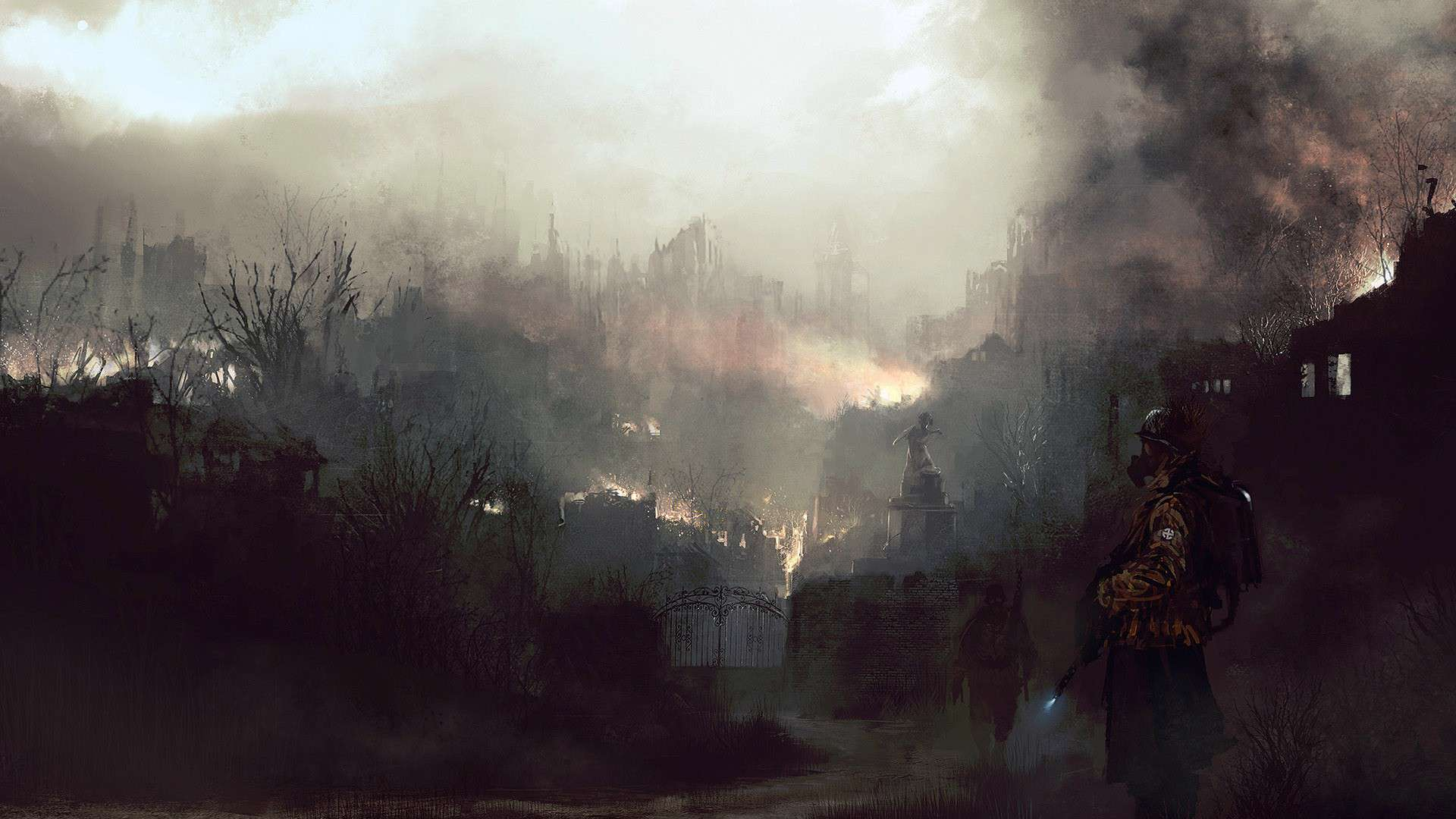 Fantasy war landscape - photo#2