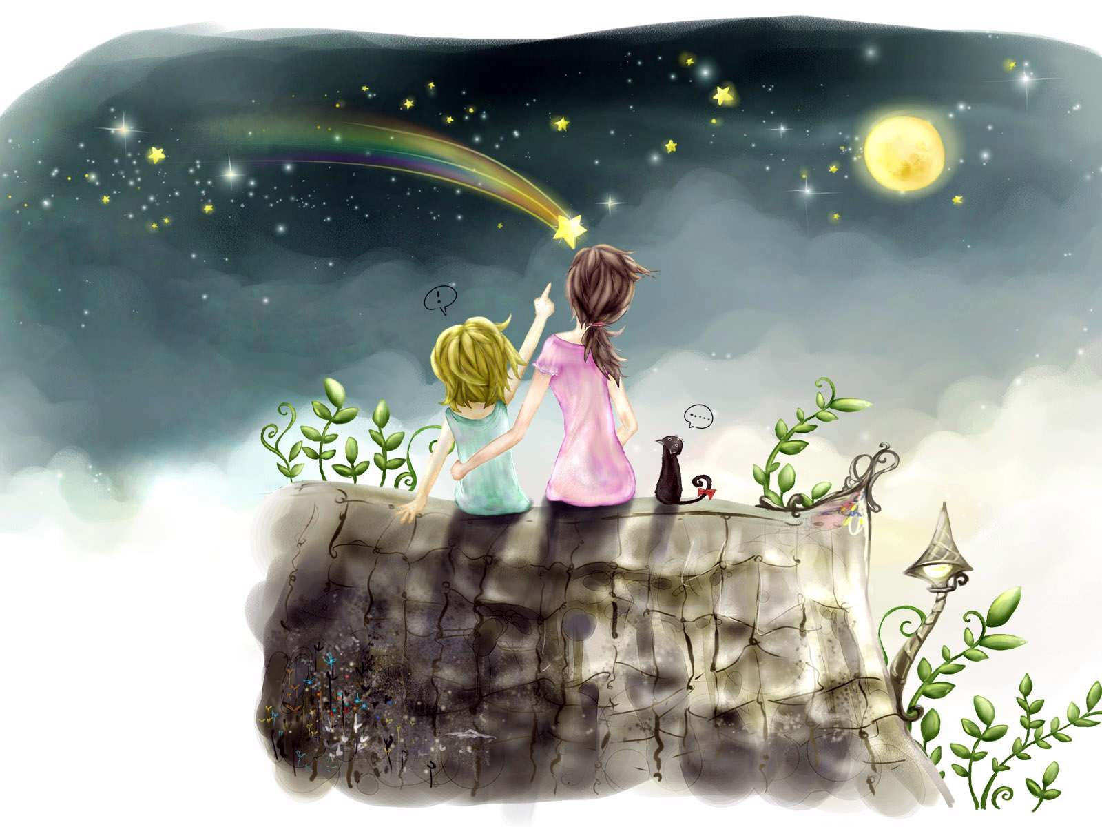 نقاشی ستاره دریایی کودکانه