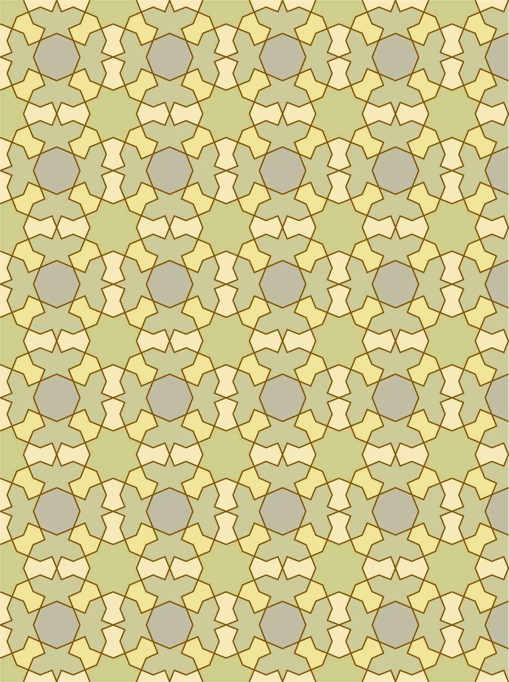 تاتو ستاره هشت پر طرح اسلیمی ستاره هشت پر گنجینه تصاویر تبيان