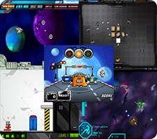 14 بازی کم حجم فلش فضایی، Flash Games Collection