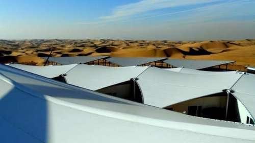 هتل؛ در دل کویر مغولستان