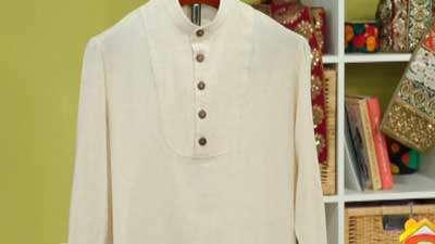 پیراهن مردانه یقه سه دکمه
