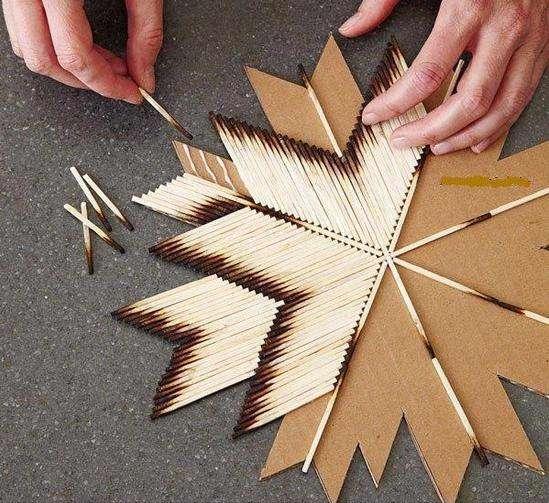 کاردستی ساده برای کودکان با سنگ وصدف