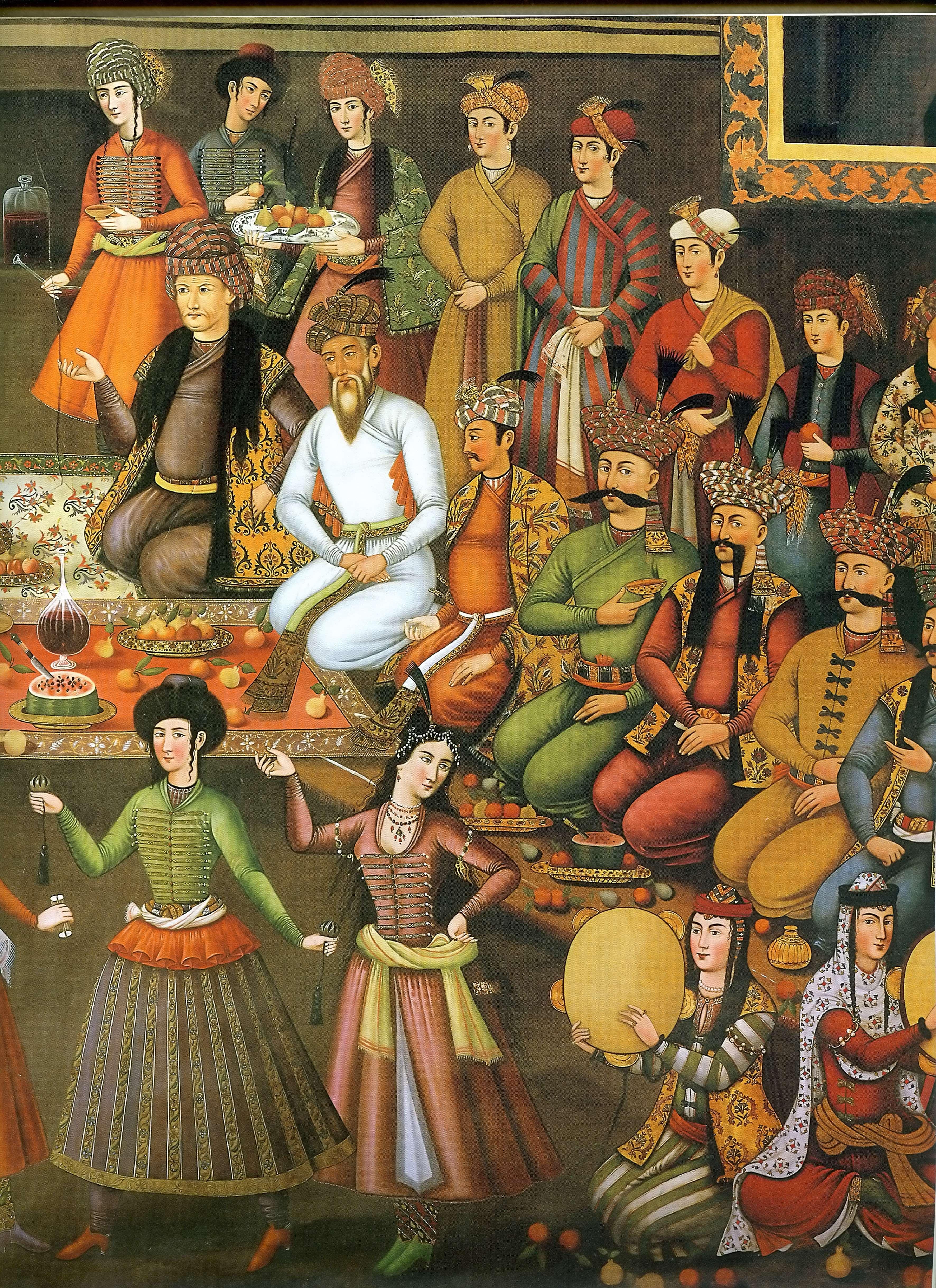 از سبک های قدیمی نقاشی ایرانی گنجینه تصاویر تبيان
