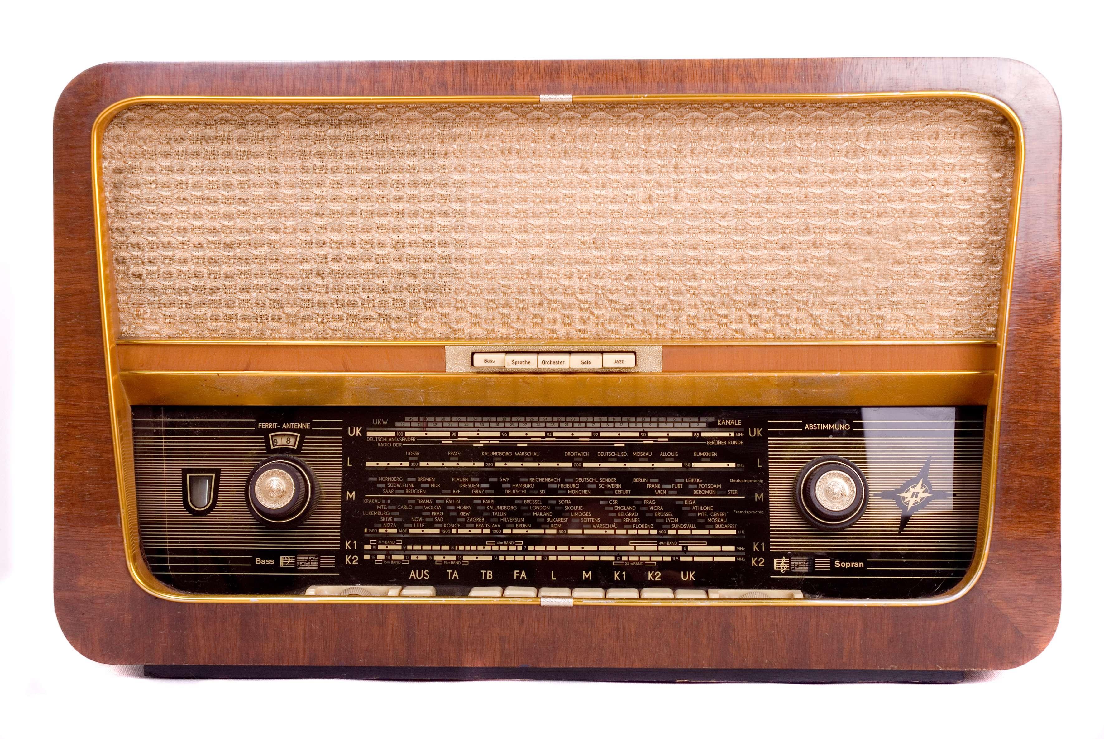 رادیو گرامافون قدیمی