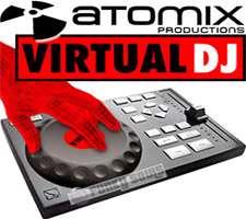 دانلود برنامه میکس فایل های صوتی و دی جی موزیک، Atomix VirtualDJ PRO 7.8.3