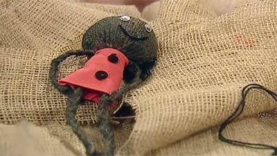 عروسک کنفی خانم ابوذری 1