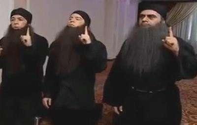 کلیپ خوردن اب  کلیپ طنز آب خوردن در دولت داعش