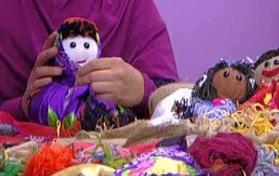 ساخت عروسک کاموایی