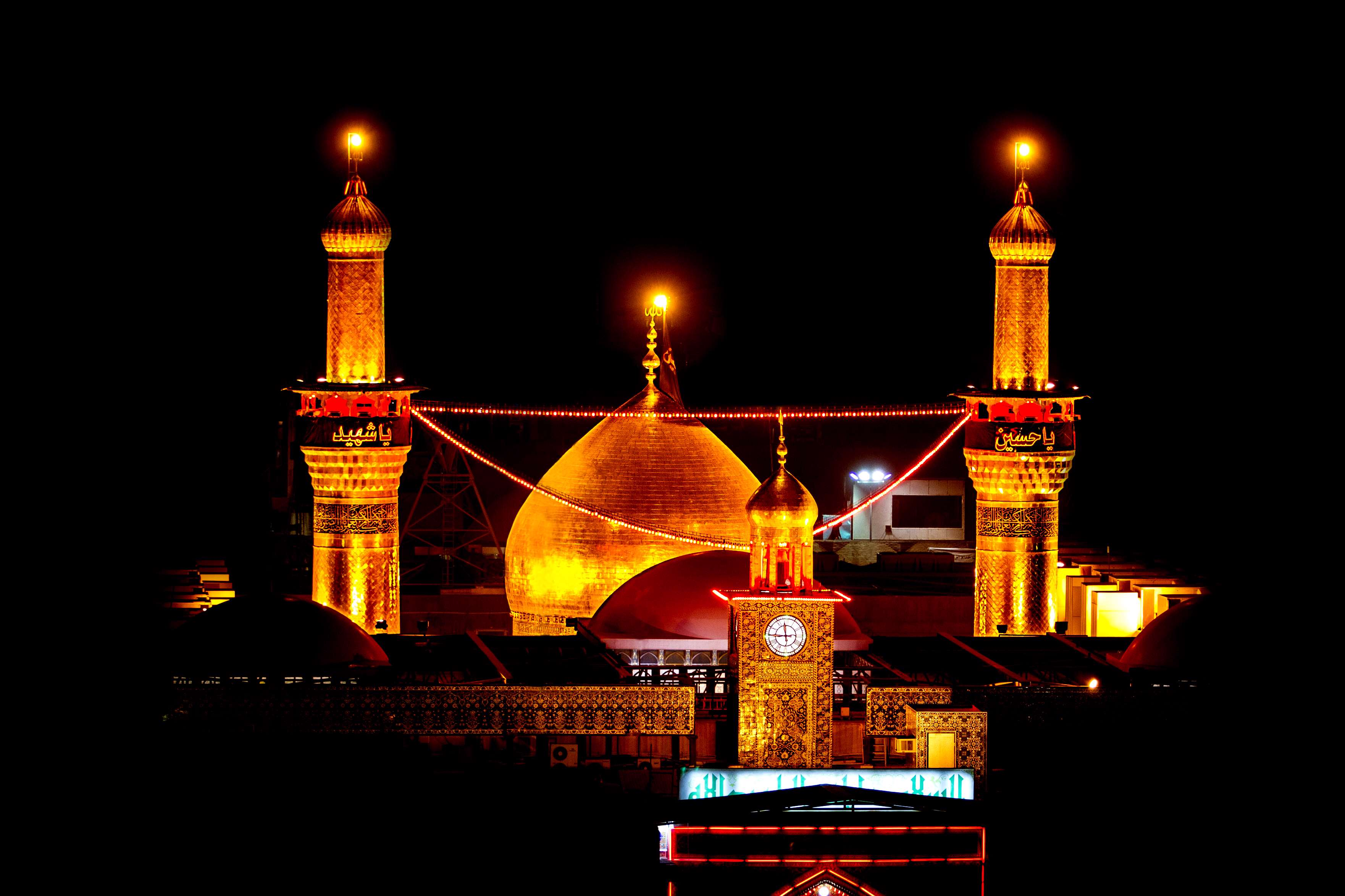 تصاویر حرم امام حسین کربلا
