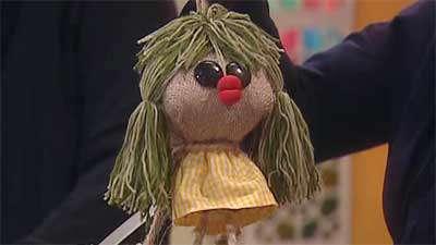 عروسک کنفی خانم ابوذری 2
