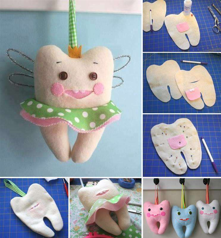 الگوی جامدادی شکل مداد عروسک به شکل دندون - ایده های خلاقانه و استفاده از ...