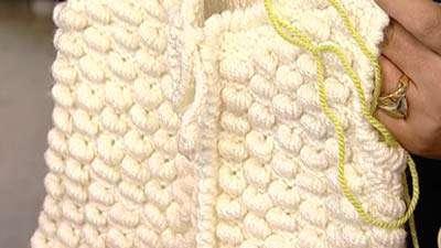 بافت خروس با دو میل تبیان بافت حلزونی (1)ـ خانم کتلی