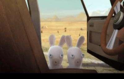 خرگوشک ها (خرگوش و ماشین )